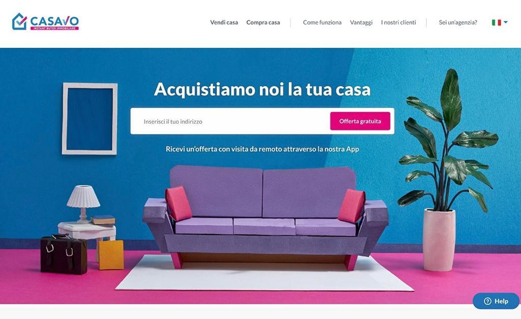 Casavo sito web