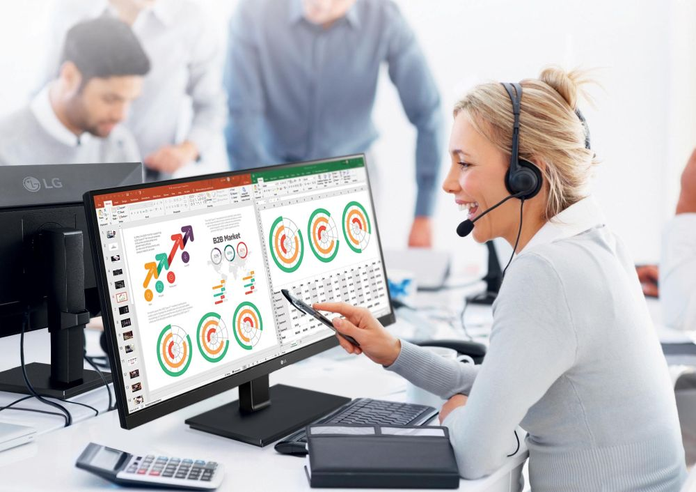 monitor business LG Electronics