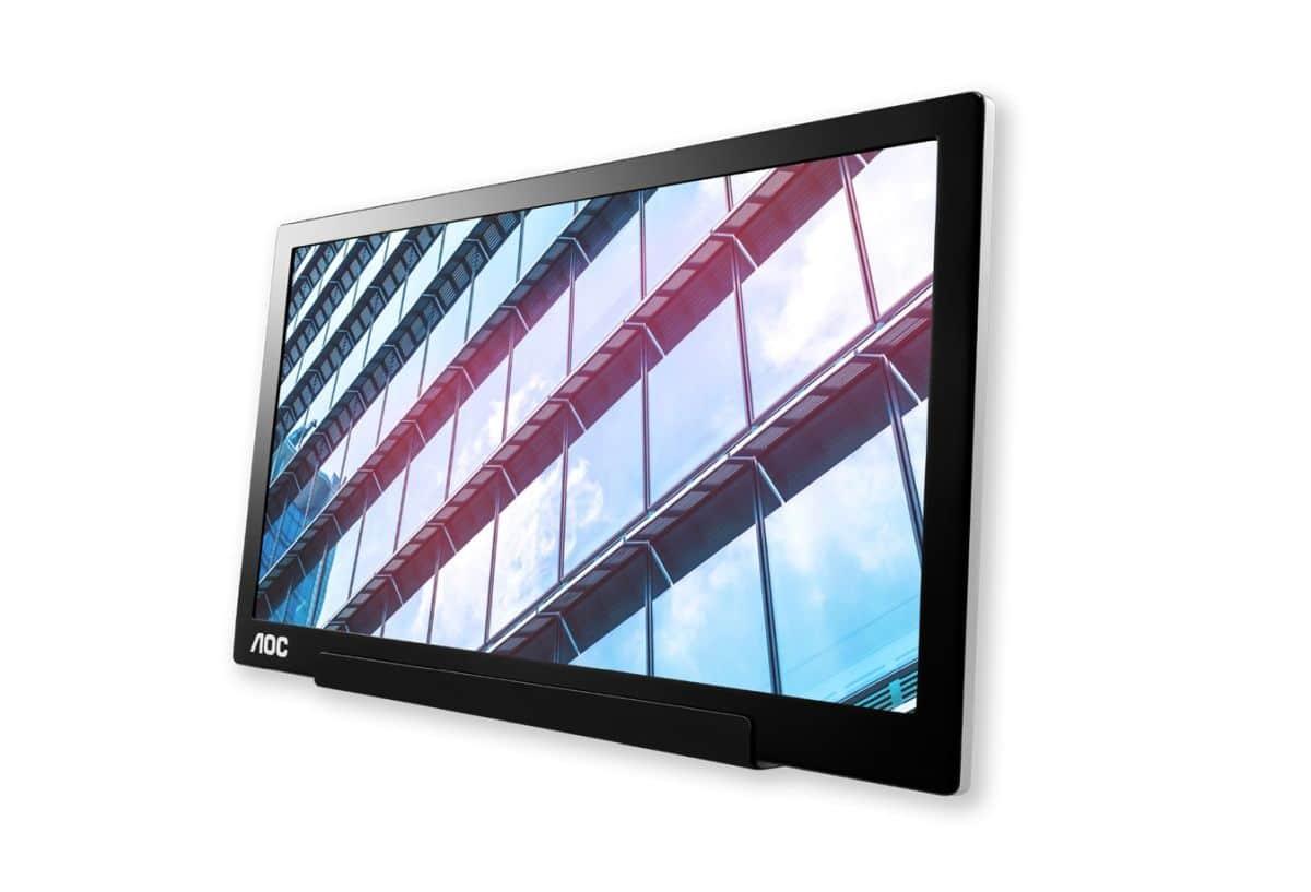 AOC I1601P, ecco il nuovo monitor portatile con connessione USB-C ibrida thumbnail