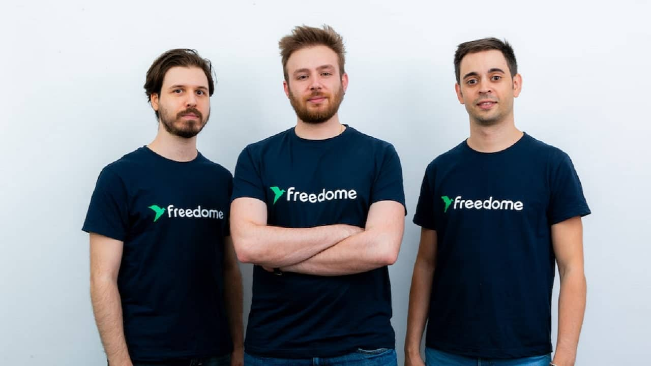 La startup Freedome chiude un round di investimenti da 600 mila euro thumbnail
