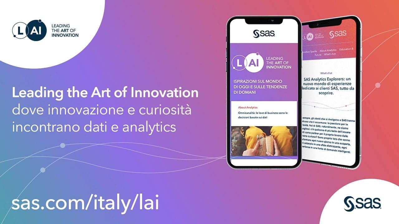 Nasce LAI, il content hub di SAS per l'innovazione thumbnail