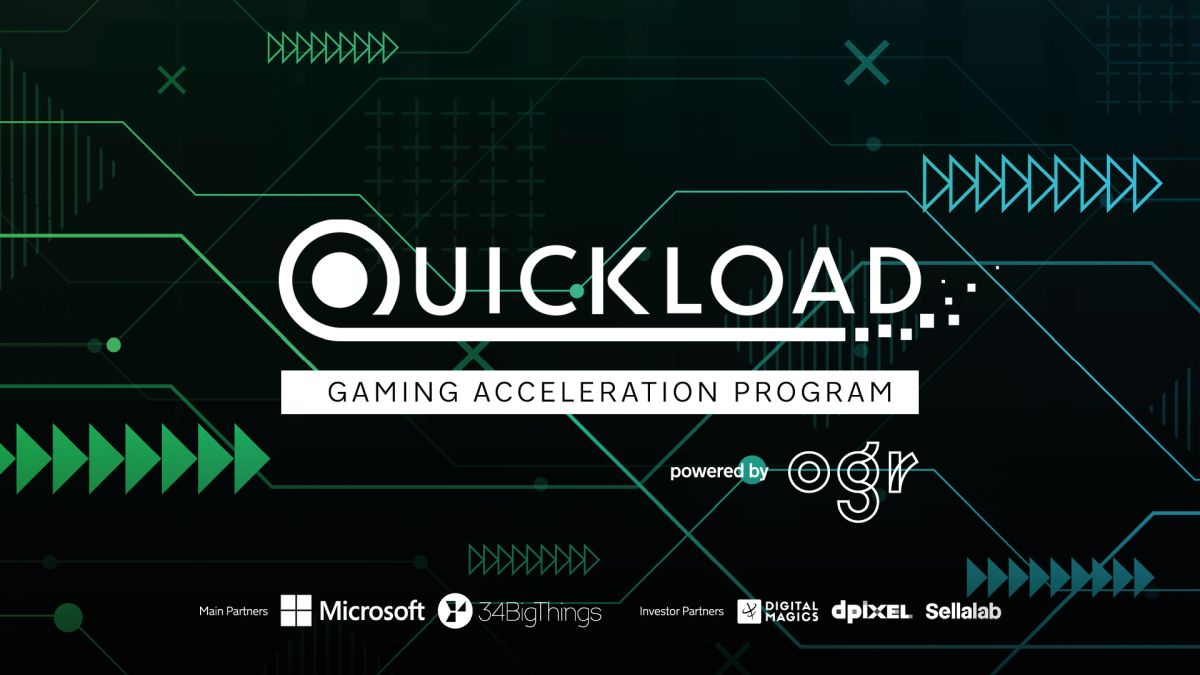Parte Quickload powered by OGR Torino, il programma di accelerazione dedicato alle startup del gaming thumbnail