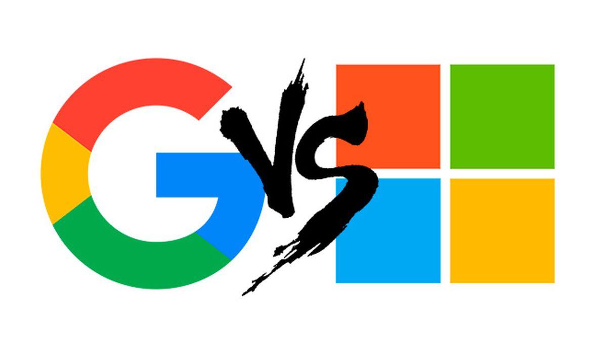 Microsoft e Google: fine della tregua che durava da sei anni thumbnail