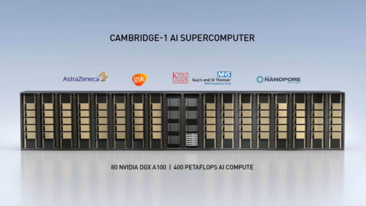 Nvidia investe 100 milioni di dollari in supercomputer dedicati alla ricerca medica thumbnail