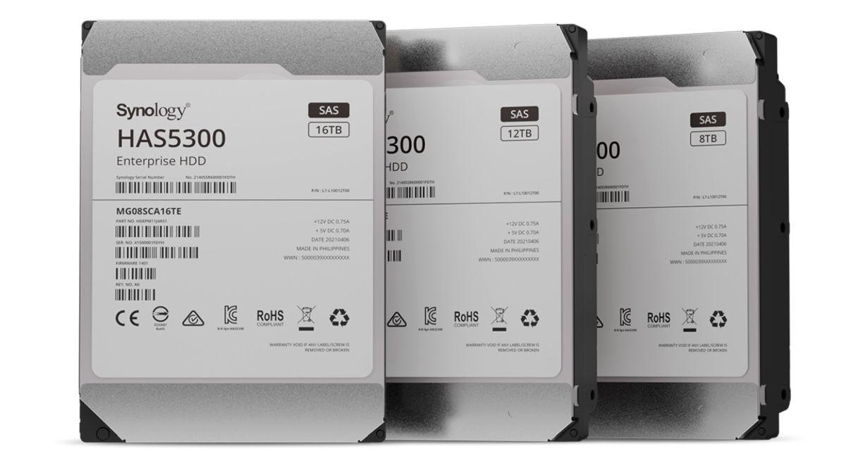 Synology lancia gli hard disk HAS5300 SAS con spazio di archiviazione fino a 16 TB thumbnail