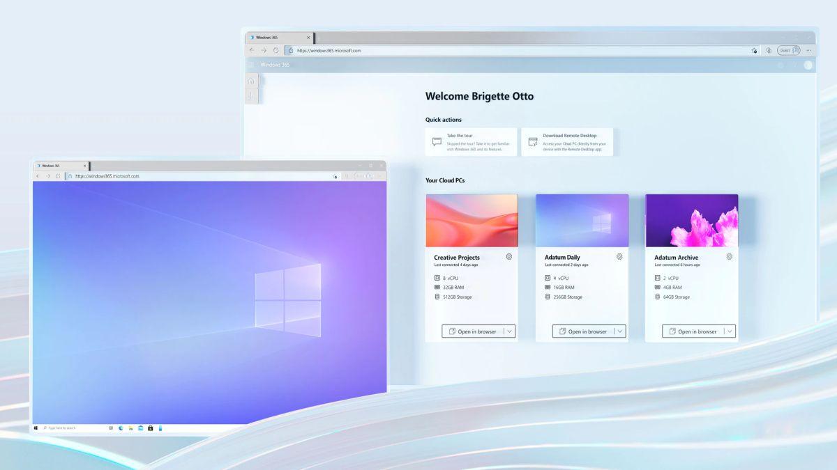 Microsoft Windows 365, ufficiale il servizio Cloud PC in abbonamento thumbnail