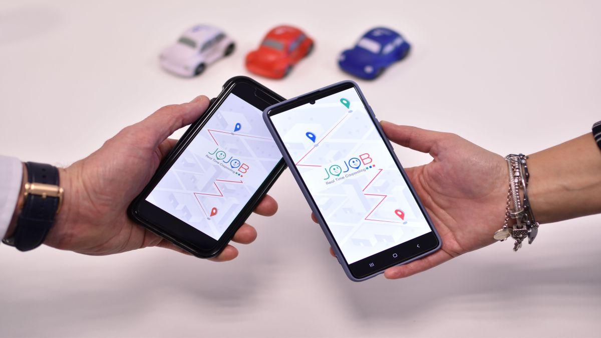 Jojob lancia la nuova app Real Time Carpooling thumbnail