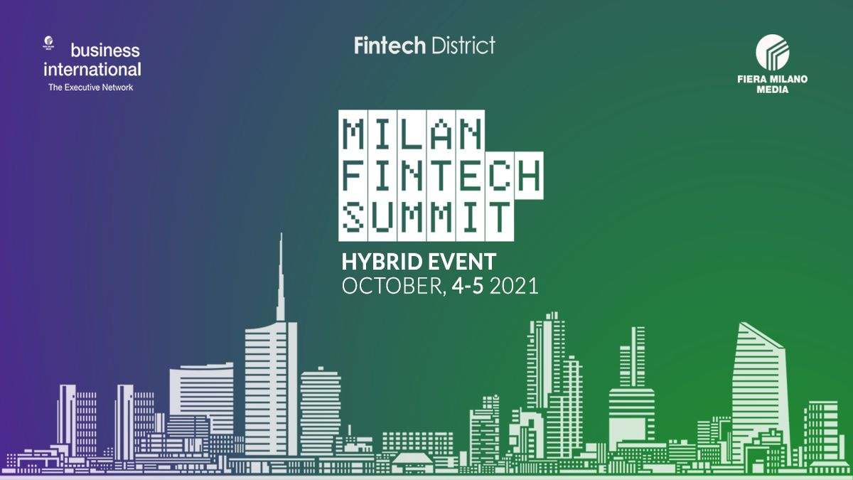 Il Milan Fintech Summit 2021 torna dal 4 al 5 ottobre a Palazzo Mezzanotte thumbnail