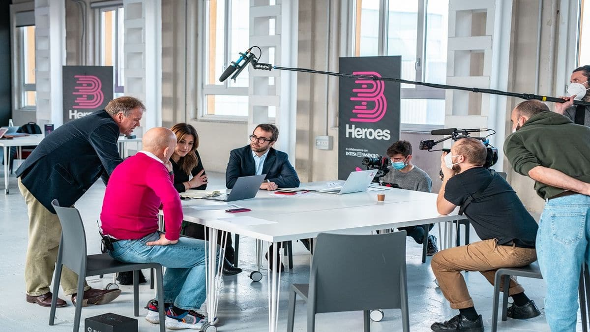 Le startup italiane protagoniste nel docufilm di B Heroes thumbnail
