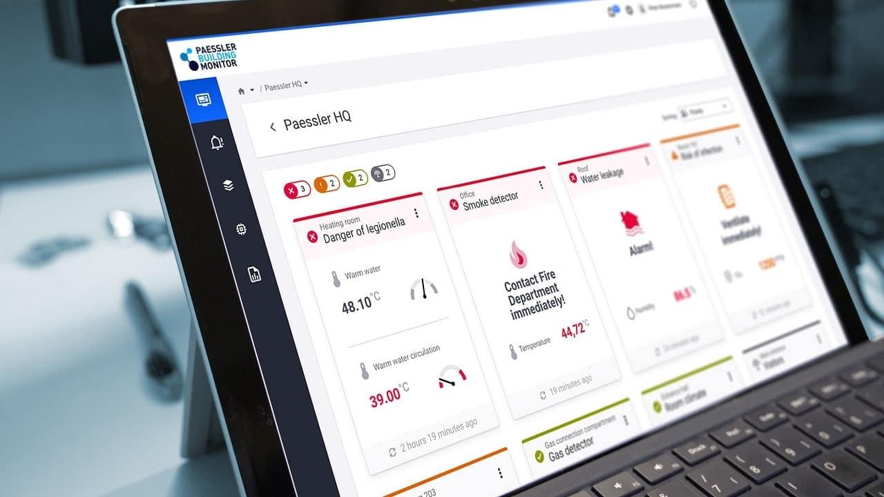 Paessler presenta Building Monitor per l'IoT in ufficio thumbnail