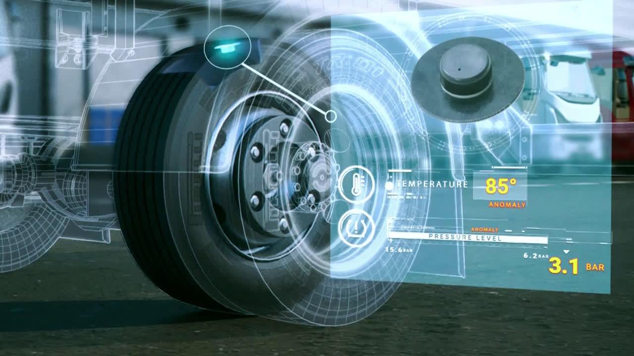 Pirelli e Geotab mettono i sensori nei pneumatici delle flotte commerciali thumbnail