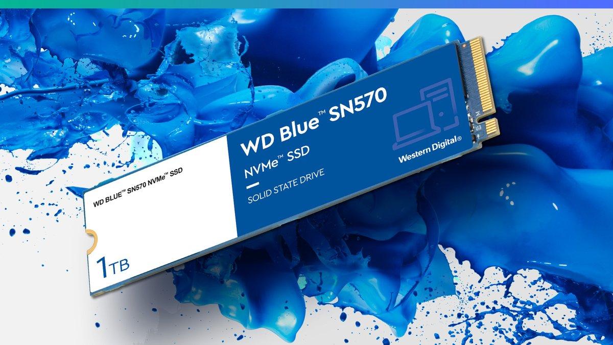 WD Blue SN570 NVMe, nuove unità SSD per i creatori di contenuti thumbnail