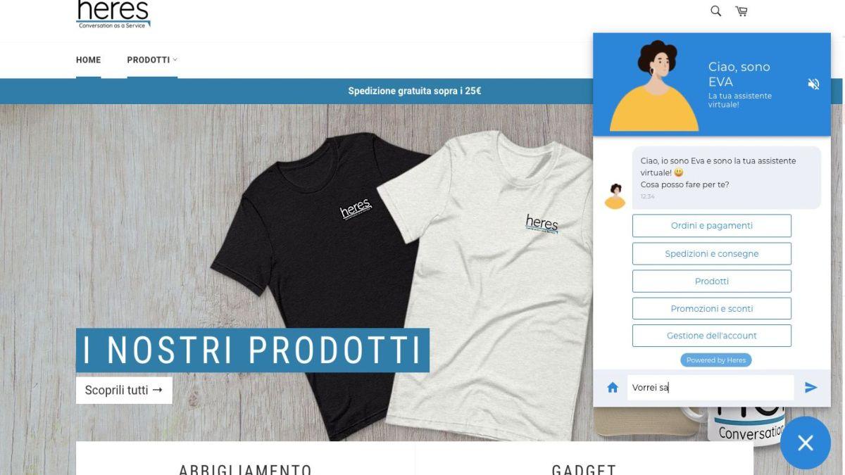Nasce E.V.A., l'assistente virtuale anche per gli ecommerce più piccoli thumbnail