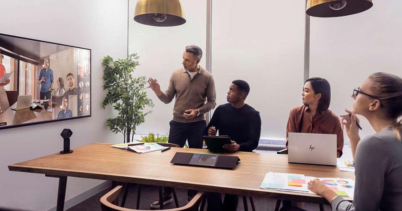HP presenta Presence, nuove soluzioni di conferencing e collaboration thumbnail