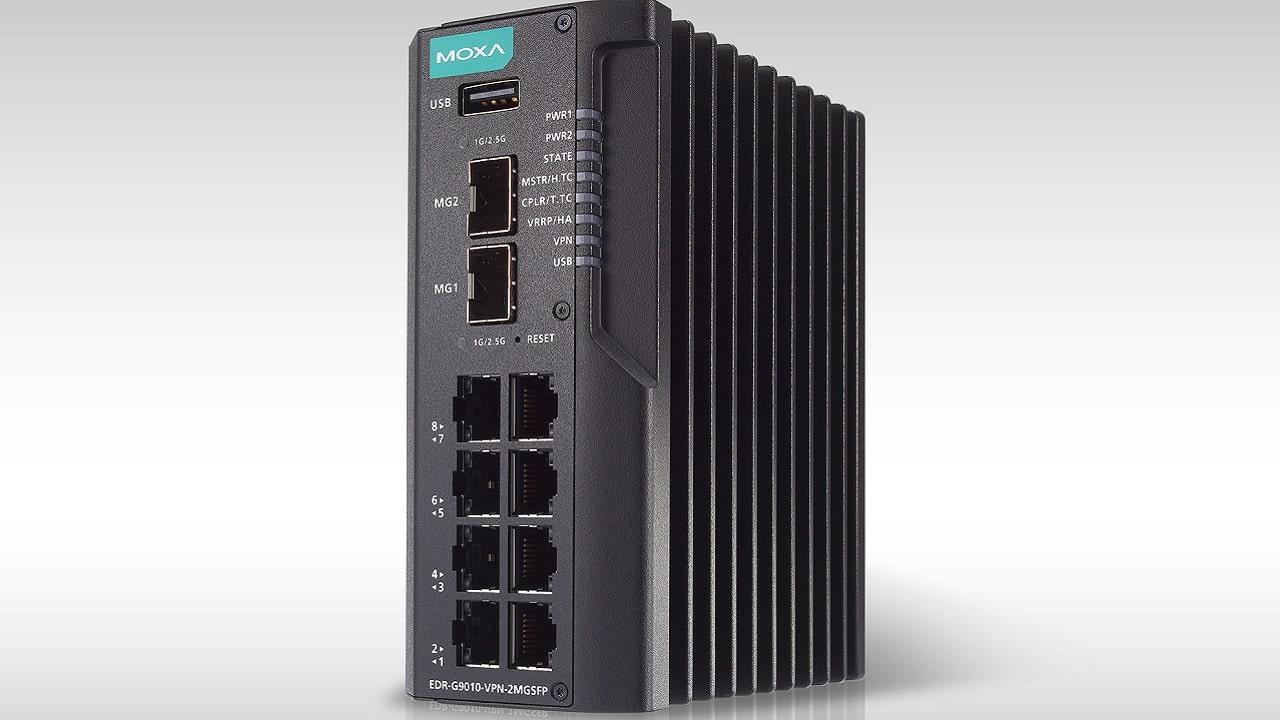 Moxa lancia il nuovo router industriale multifunzione thumbnail